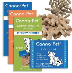 Canna-Pet's Hemp-Based Dog Treats