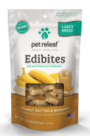 Pet Releaf Peanut Butter Banana Large Breed
