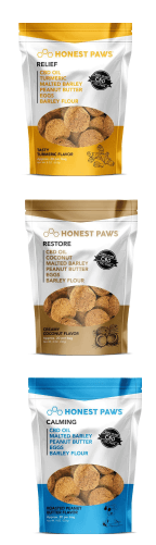 Honest Paws CBD Dog Treats