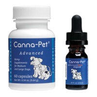 Canna-Pet Advanced Large Capsules & MaxHemp Liquid