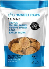 2.	Honest Paws Roasted Peanut Butter Treats