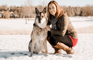 Dr. Katie Woodley is a holistic veterinarian
